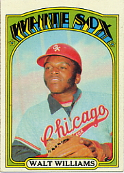 1972 Topps Baseball Cards      015      Walt Williams